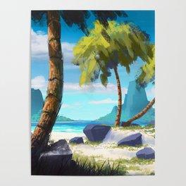 Palma Beach XIX Poster