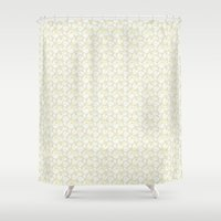 magnolia Shower Curtains featuring Magnolia by Mayacoa