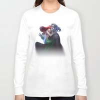ariel Long Sleeve T-shirts featuring ariel by Katie Payne