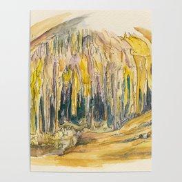 Carlsbad Cavern National Park Poster