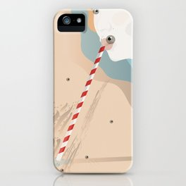 """When the letter """"I"""" turns into and eye iPhone Case"""