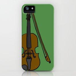 Fiddle iPhone Case