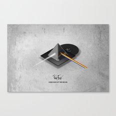 Pink Floyd - Dark Side of the Moon Canvas Print