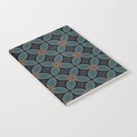 Metallic Deco Blue Notebook