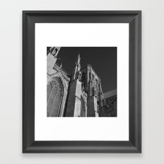 Tower (B & W) Framed Art Print