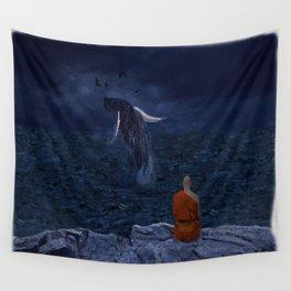 La preciosa mente de un monje - The beautiful mind of a monk Wall Tapestry