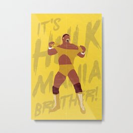 Can You Feel It Brother? Metal Print