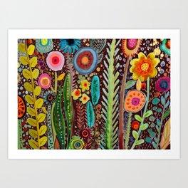 jardinage Art Print