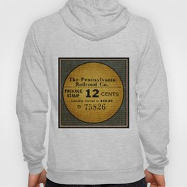Burlap 1: The Pennsylvania Railroad Co.  Hoody
