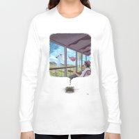 typewriter Long Sleeve T-shirts featuring Typewriter by liev