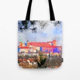 Cracow - Wawel castle Tote Bag