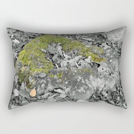 Mossy Stump Rectangular Pillow