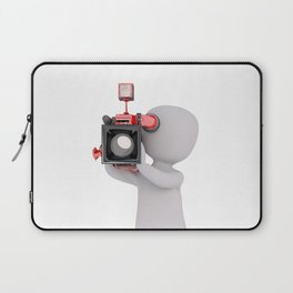 Beautiful Camera Man Laptop Sleeve