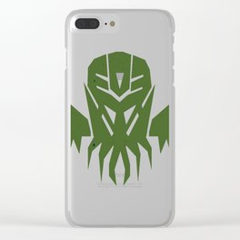 Decepticon Cthulhu Clear iPhone Case