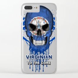 To The Core Collection: Virginia Clear iPhone Case