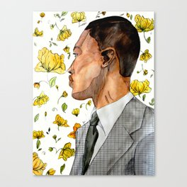 floral no. 3 Canvas Print