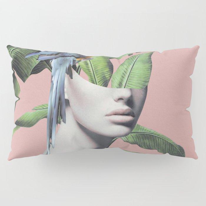 Tropical Girl  2 Pillow Sham