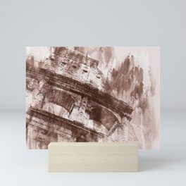 Rome, Colosseum Mini Art Print