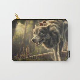 Faster (Wolf and Squirrel) Carry-All Pouch