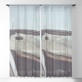 Shattered Sheer Curtain