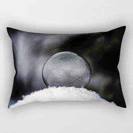 Daybreak Light on Snowy Day Rectangular Pillow