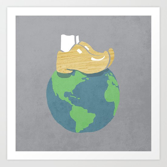 it is a small world after all  Art Print