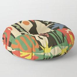 Inspired to Matisse (vintage) Floor Pillow