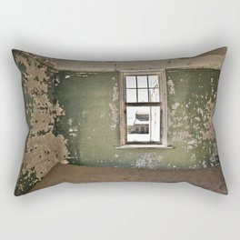 Abandoned house - Landscape Photography #Society6 Rectangular Pillow