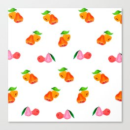 Jambu II (Wax Apple) - Singapore Tropical Fruits Series Canvas Print