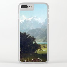 Albert Bierstadt Lake Lucerne Clear iPhone Case