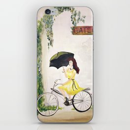 Joy of Riding iPhone Skin