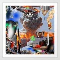 lebron Art Prints featuring Show Me The Money by artbynatejames