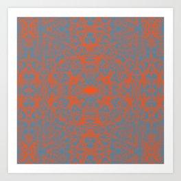 Lace Variation 05 Art Print