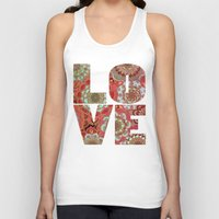 baroque Tank Tops featuring Baroque Obsession by micklyn