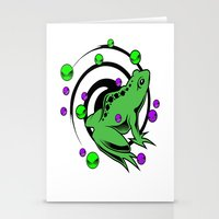 frog Stationery Cards featuring Frog  by Michael Moriarty Photography