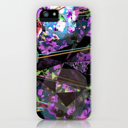 GeoLazer iPhone Case
