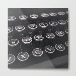 Smith-Corona Typewriter Keys Metal Print