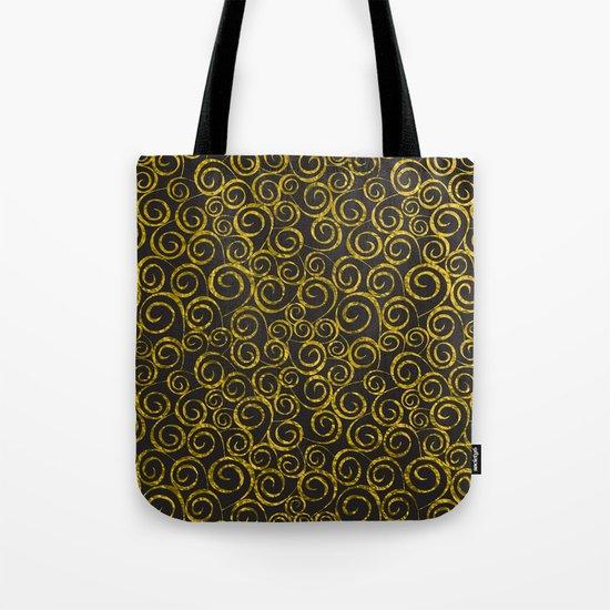 Festive curves Tote Bag