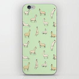 Llamas iPhone Skin