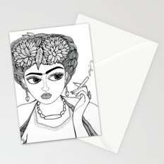 Ode to Frida Stationery Cards