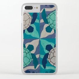Sea Turtles Clear iPhone Case