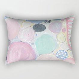 Mixed Lollies Abstract Rectangular Pillow