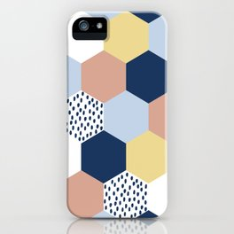 Cotton Candy Hexies iPhone Case