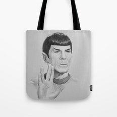 Spock Portrait Star Trek Tote Bag