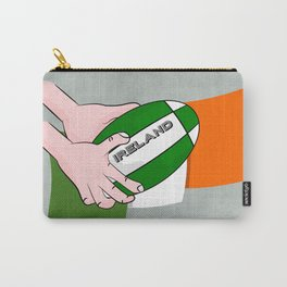 Rugby Ireland Flag Carry-All Pouch