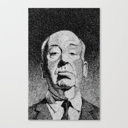 Fingerprint - Hitchcock Canvas Print