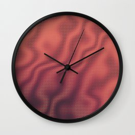 Cup of Joe and the Volcano Wall Clock