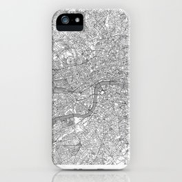 London Map Line iPhone Case