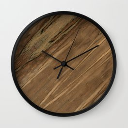 Etimoe Crema Wood Wall Clock