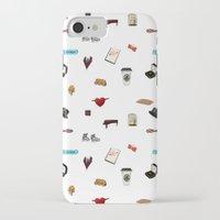 klaine iPhone & iPod Cases featuring Pattern of Klaine things by Jen K